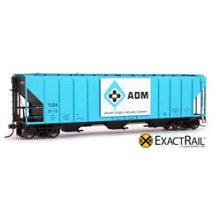 X - PS-2CD 4427 Covered Hopper : ADM - ExactRail Model Trains - 1