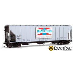 X - PS-2CD 4427 Covered Hopper : Beacon - ExactRail Model Trains - 1