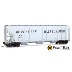 X - PS-2CD 4427 Covered Hopper : WM - ExactRail Model Trains - 1