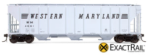 X - PS-2CD 4427 Covered Hopper : WM - ExactRail Model Trains - 6