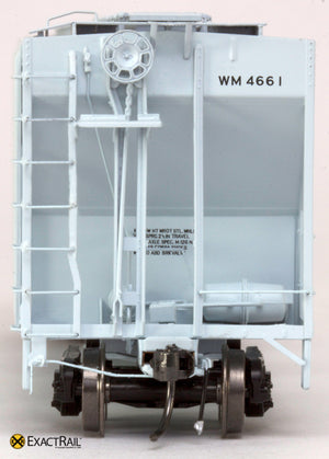 X - PS-2CD 4427 Covered Hopper : WM - ExactRail Model Trains - 2