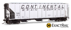 X - PS-2CD 4427 Covered Hopper : Continental - ExactRail Model Trains - 1