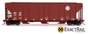X - PS-2CD 4427 Covered Hopper : BNSF - ExactRail Model Trains - 4