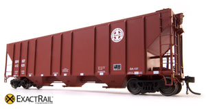X - PS-2CD 4427 Covered Hopper : BNSF - ExactRail Model Trains - 3