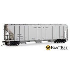 PS-2CD 4427 Covered Hopper : NP : 1964 Delivery - ExactRail Model Trains - 1