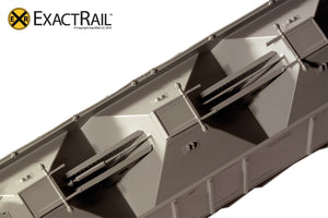 PS-2CD 4427 Covered Hopper : NP : 1964 Delivery - ExactRail Model Trains - 5