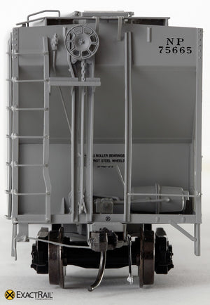 PS-2CD 4427 Covered Hopper : NP : 1964 Delivery - ExactRail Model Trains - 3