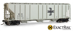 X - PS-2CD 4427 Covered Hopper : B&M - ExactRail Model Trains - 1