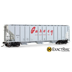 PS-2CD 4427 Covered Hopper : GELX : Garvey - ExactRail Model Trains - 1