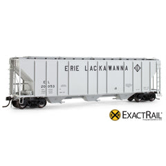 PS-2CD 4427 Covered Hopper : EL - ExactRail Model Trains - 1
