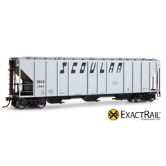PS-2CD 4427 Covered Hopper : SBGX - ExactRail Model Trains - 1
