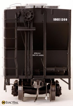 PS-2CD 4427 Covered Hopper : SBGX - ExactRail Model Trains - 3
