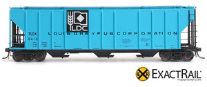 PS-2CD 4427 Covered Hopper : TLDX : Louis Dreyfus Co. - ExactRail Model Trains - 2