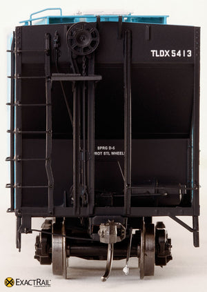 PS-2CD 4427 Covered Hopper : TLDX : Louis Dreyfus Co. - ExactRail Model Trains - 3
