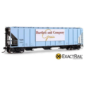 HO Scale: PS-2CD 4427 Covered Hopper - TLDX - Bartlett & Co.