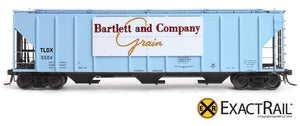 PS-2CD 4427 Covered Hopper : TLDX : Bartlett & Co. - ExactRail Model Trains - 2