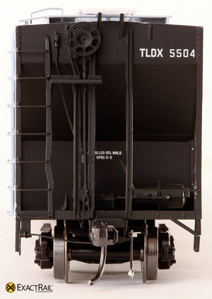 PS-2CD 4427 Covered Hopper : TLDX : Bartlett & Co. - ExactRail Model Trains - 3