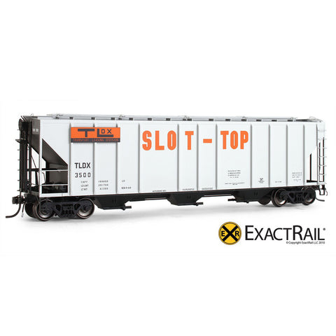 HO Scale: PS-2CD 4427 Covered Hopper - TLDX - Slot-Top