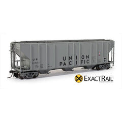 HO Scale: PS-2CD 4427 Covered Hopper - Union Pacific 'Post-1978 stencils'