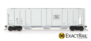 PS-2CD 4427 Covered Hopper : RI - ExactRail Model Trains - 2