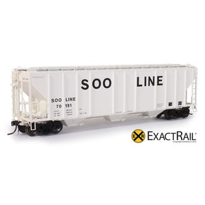 HO Scale: PS-2CD 4427 Covered Hopper - SOO LINE - 70151