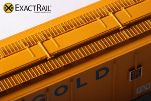 PS-2CD 4427 Covered Hopper : TLDX : Gold Kist - ExactRail Model Trains - 4