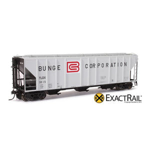 HO Scale: PS-2CD 4427 Covered Hopper - TLDX - Bunge