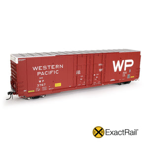 HO Scale: Greenville 7100 Auto Parts Boxcar - WP