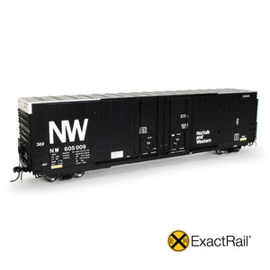 HO Scale: Greenville 7100 Auto Parts Boxcars - NW