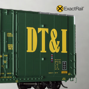 HO Scale: Greenville 7100 Auto Parts Boxcar - DT&I