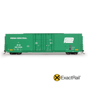 HO Scale: Greenville 7100 Auto Parts Boxcars - PC