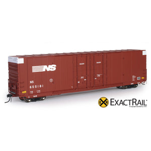 HO Scale: Greenville 7100 Auto Parts Boxcar - NS