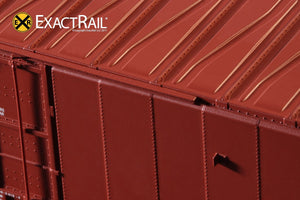 X - Greenville 60' Double Plug Door Box Car : NS - ExactRail Model Trains - 5