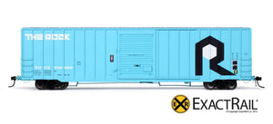 Berwick 7327 Boxcar : RI - ExactRail Model Trains - 2