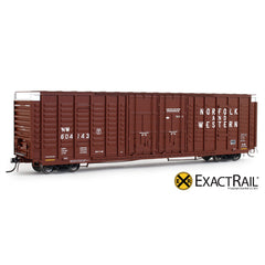 P-S 7315 Waffle Boxcar : NW - ExactRail Model Trains - 1