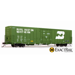 HO Scale: PC&F Beer Car - Burlington Northern 'RBCS'