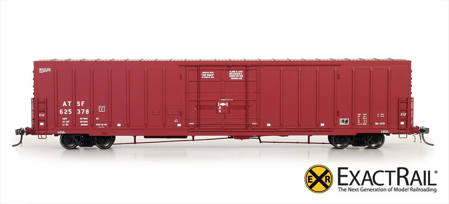 HO Scale: PC&F Beer Car - ATSF - 'Gothic Repaint'