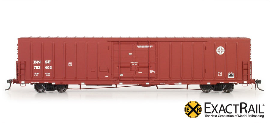 HO Scale: PC&F Beer Car - BNSF - 'Circle Cross'