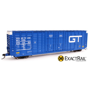 HO Scale: P-S 7315 Waffle Boxcar - GTW