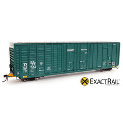P-S 7315 Waffle Boxcar : DT&I - ExactRail Model Trains - 1