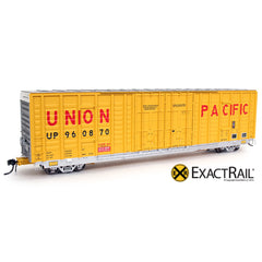 P-S 7315 Waffle Boxcar : UP - ExactRail Model Trains - 1