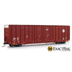 P-S 7315 Waffle Boxcar : BNSF - ExactRail Model Trains - 1