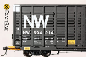 P-S 7315 Waffle Boxcar : NW - ExactRail Model Trains - 4