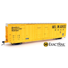 HO Scale: P-S 7315 Waffle Boxcar - MILW