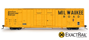 P-S 7315 Waffle Boxcar : MILW - ExactRail Model Trains - 2