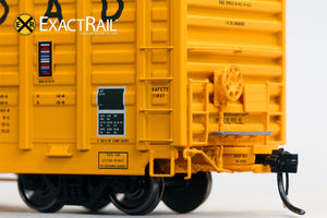 P-S 7315 Waffle Boxcar : MILW - ExactRail Model Trains - 3