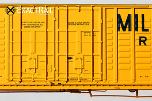 P-S 7315 Waffle Boxcar : MILW - ExactRail Model Trains - 5