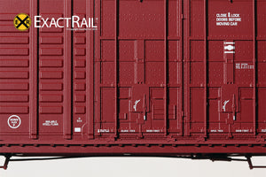 P-S 7315 Waffle Boxcar : ATSF - ExactRail Model Trains - 5