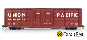 P-S 7315 Waffle Boxcar : UP - ExactRail Model Trains - 2