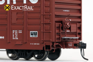 P-S 7315 Waffle Boxcar : UP - ExactRail Model Trains - 3